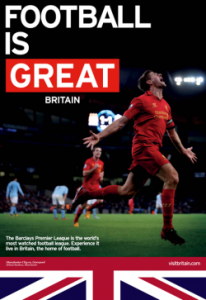 VisitBritain-tourisme sportif football