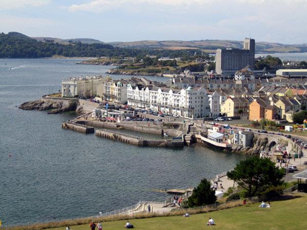Cote Sud Angleterre découvrez plymouth, la plus grande ville de la côte sud de l