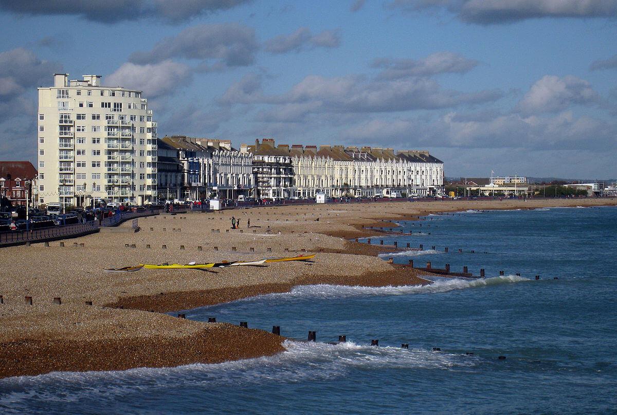 Eastbourne, une station balnéaire populaire auprès de toutes les générations